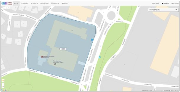 Example of Geofence